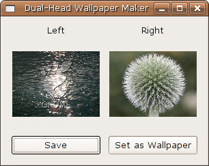 Dual-Head Wallpaper Maker