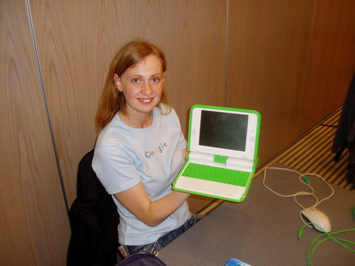 Vika and OLPC